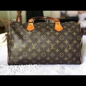 Louis Vuitton Vintage Speedy Bandouliere 30